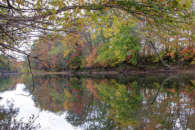 Photograph - Autumn On The Water by Gregory Ballos