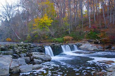 Wissahickon Creek Photograph - Autumn On The Wissahickon Creek by Bill Cannon