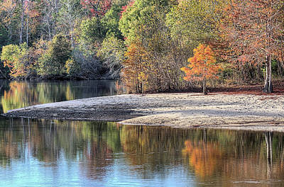 Cypress Swamp Photograph - Autumn On The Yellow River by JC Findley