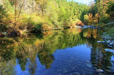 Photograph - Autumn On The Yuba by Sean Sarsfield