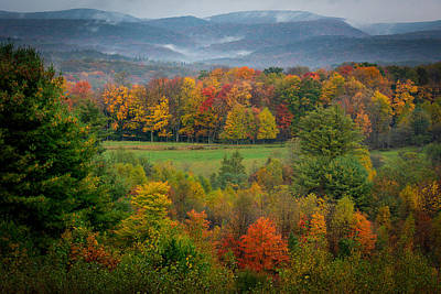 Photograph - Autumn On Winslow Hill by Cindy Lark Hartman
