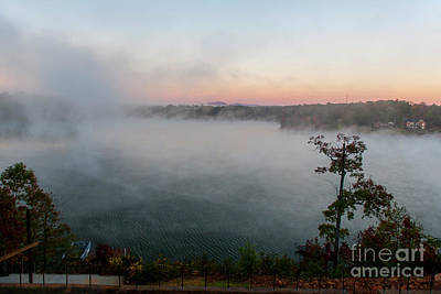 Photograph - Autumn Over Lake Bowen by Dale Powell