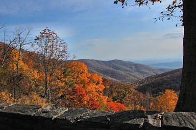 Photograph - Autumn Over The Shenandoah Valley by Ben Prepelka
