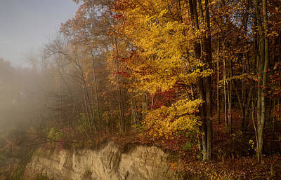 Photograph - Autumn Overlook by Ann Bridges