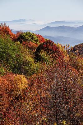 Photograph - Autumn Overlook In Beauty by Debra and Dave Vanderlaan
