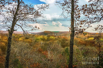 Autumn Peggy Franz Photograph - Autumn Overlook by Peggy Franz