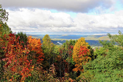 Photograph - Autumn Overlook by Trina Ansel