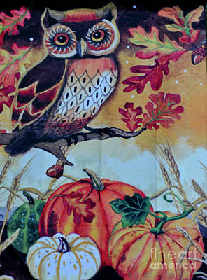Photograph - Autumn Owl by Dale Powell