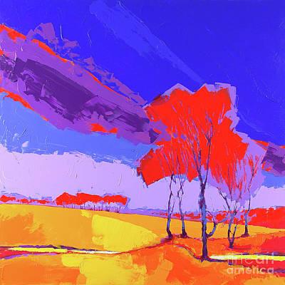 Wall Art - Painting - Autumn P2 by Anatoli Titarenko