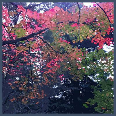 Leaves Digital Art - Autumn Palette by Susan Fernandez