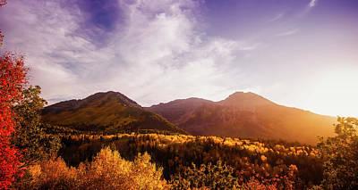 Photograph - Autumn Panorama by Cameron Kirby