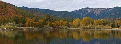 Photograph - Autumn Panorama by Loree Johnson