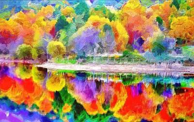 Autumn Panorama Art Print