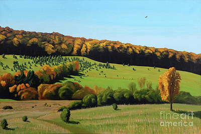 Painting - Autumn Pastoral by Robert Coppen