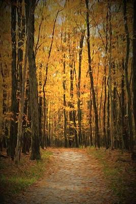 Autumn Peace Art Print by Dan Sproul