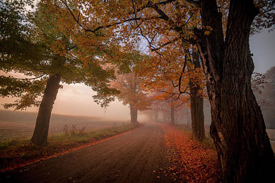 Photograph - Autumn Peace by Tim Kirchoff