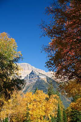 Autumn Peaks Art Print