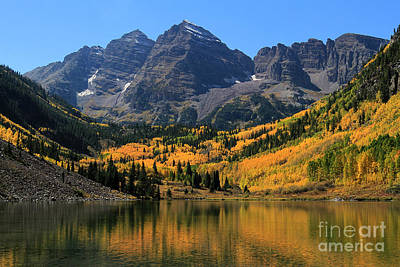 Photograph - Autumn Peaks by Paula Guttilla
