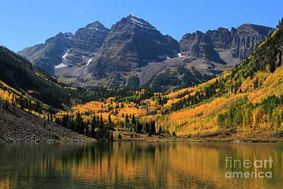 Photograph - Autumn Peaks by Paula Guttilla