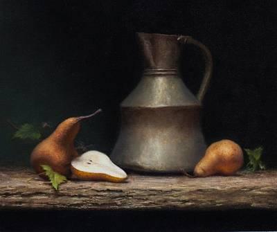 Painting - Autumn Pears by Chapman Hamborg