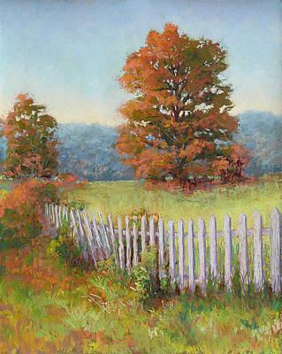 Painting - Autumn Pickets by Marsha Savage