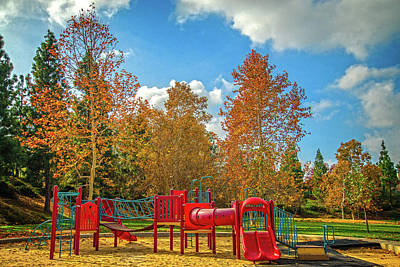 Photograph - Autumn Playground by Lynn Bauer