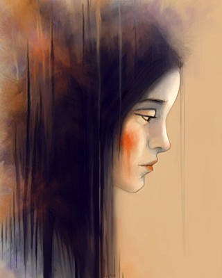 Digital Art - Autumn Portrait by Angela Murdock