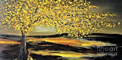 Painting - Autumn by Preethi Mathialagan