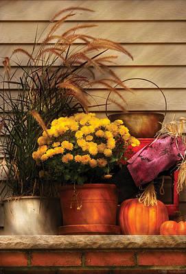 Mikesavad Photograph - Autumn - Pumpkin - Autumn Still Life II by Mike Savad