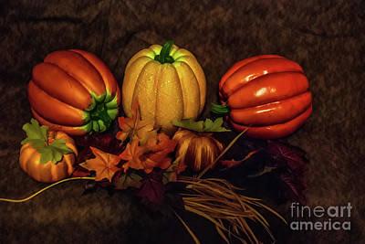 Photograph - Autumn Pumpkins by Scott Hervieux