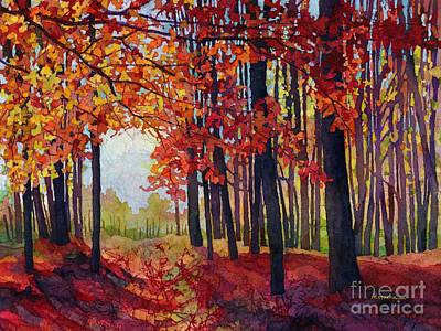 Painting - Autumn Rapture by Hailey E Herrera