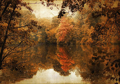 Autumn Reflected Art Print