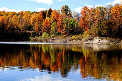 Photograph - Autumn Reflected by John McArthur