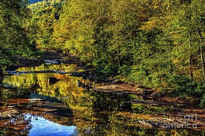Photograph - Autumn Reflection Along Elk River by Thomas R Fletcher