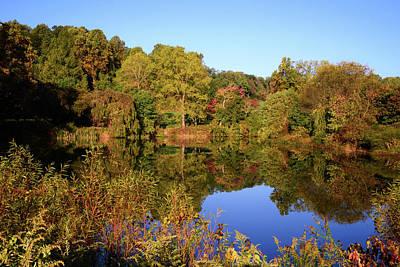 Photograph - Autumn Reflection by Angie Tirado