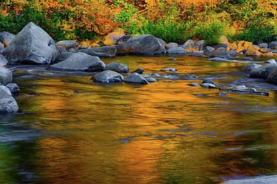 Photograph - Autumn Reflection by Jeff Folger