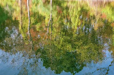 Photograph - Autumn Reflection  by John McGraw