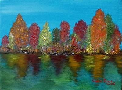 Painting - Autumn Reflection by Judith Rhue
