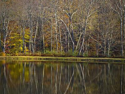 Photograph - Autumn Reflections by Andrew Kazmierski