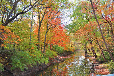Boondocks Photograph - Autumn Reflections by Brittany Horton