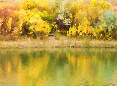 Photograph - Autumn Reflections by Diane Alexander