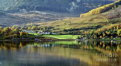 Photograph - Autumn Reflections by Lynn Bolt