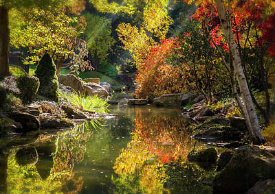Photograph - Autumn Reflections by Mark Mille