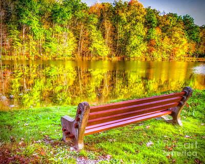 Photograph - Autumn Reflections by Nick Zelinsky
