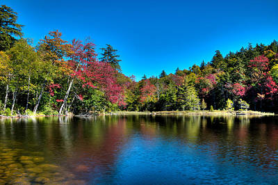 Photograph - Autumn Reflections On Seventh Lake by David Patterson