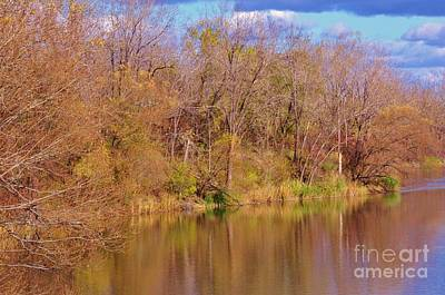 Photograph - Autumn Reflections by Reb Frost