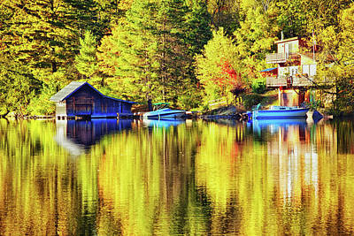Photograph - Autumn Reflections by Tatiana Travelways