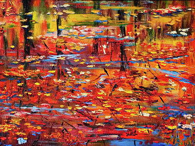 Painting - Autumn Reflections by Terry R MacDonald