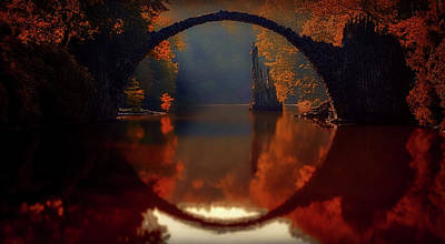 Photograph - Autumn Reflections by Unsplash