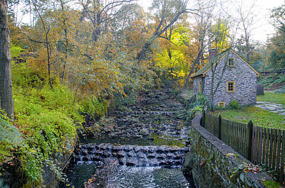 Germantown Photograph - Autumn - Rittenhouse Town by Bill Cannon